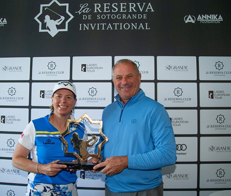Annika Sorenstam to Host The Ladies European Tour at La Reserva Club de Sotogrande