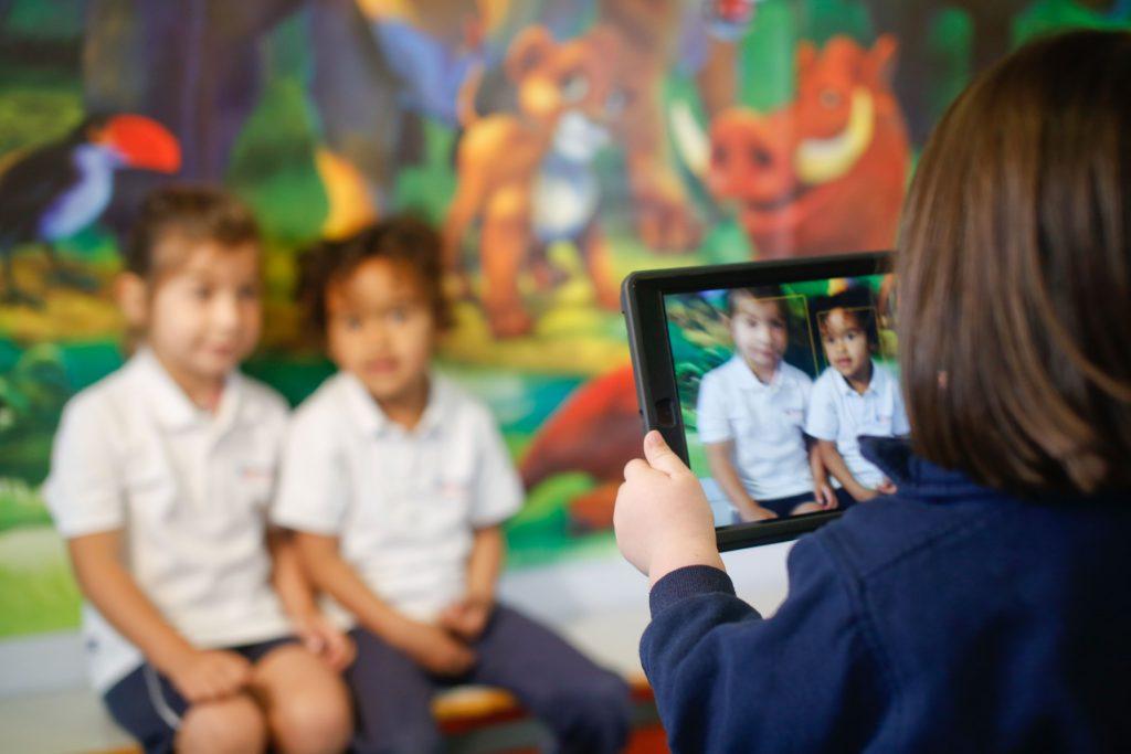 Children at Sotogrande International School