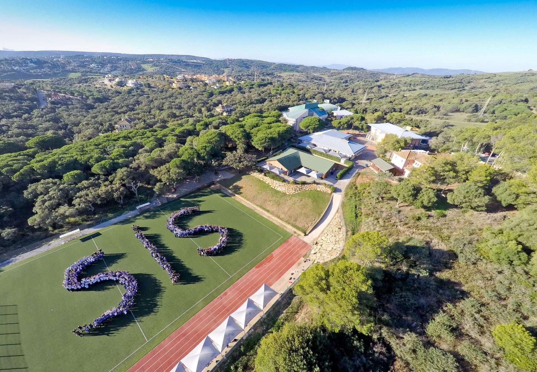Sotogrande School Aerial Photo