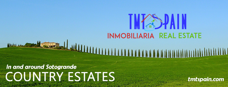 Country Estates in and around Sotogrande